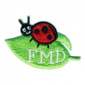 FMD ladybug patch